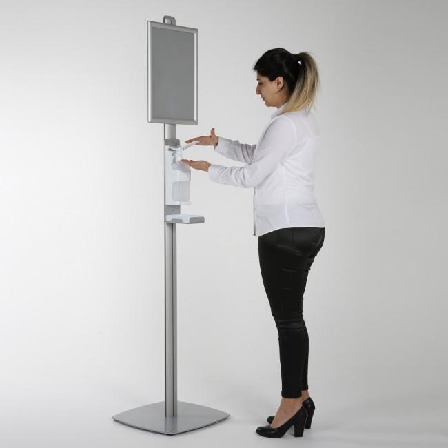 Freestanding Hand Sanitiser Dispenser